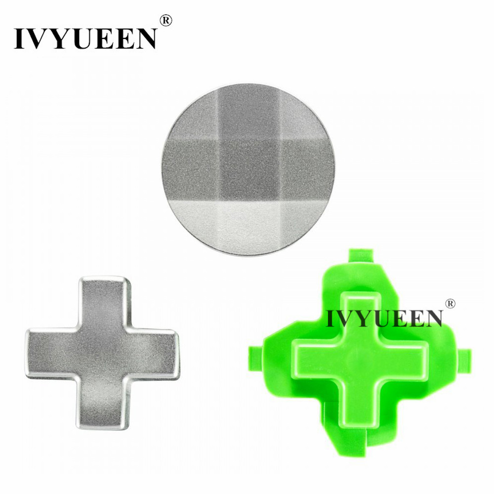 IVYUEEN 3 In 1 D-pad For Xbox One X S Slim Controller Magnetic Metal Stainless Steel Dpad Kits Accessories For XBox Elite