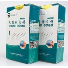 1000 sztuk 2 pudełko igły do akupunktury 1000 igły akupunktury jednorazowe igły masażu kosmetycznego Sterilze igły