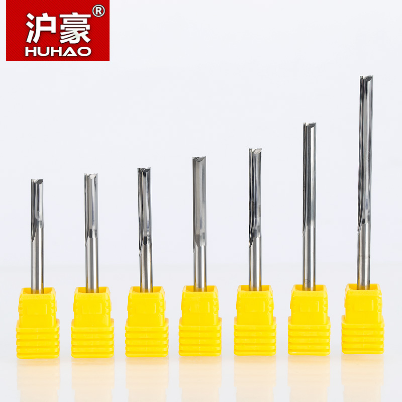 HUHAO 5pcs/lot  Shank 4mm CNC Engraving CuttersTwo Flutes Straight Router Bits for Wood  Carbide Endmills Cutting Milling Tools new 1pc hss cnc 4 flutes end mill milling cutter wood thin metal drill bits 1 5 2 2 5 3 4 5 6 7 8 10 12 14 mm straight shank