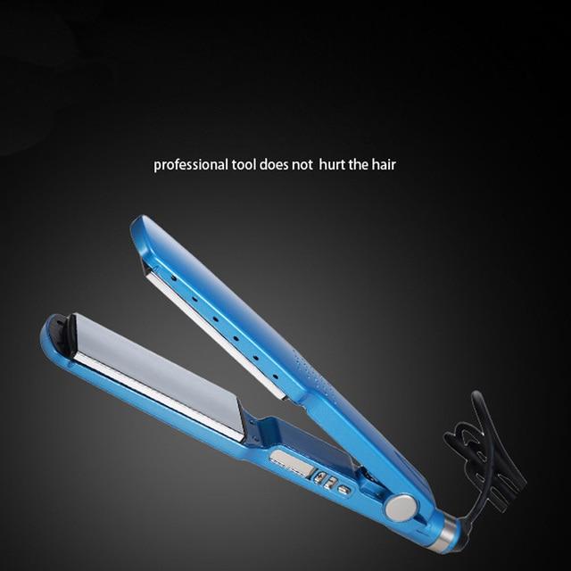 Hair Straightening Flat Iron Hair Styling Tools Professional Tourmaline Ceramic Plate Hair Straightener Curler EU plug & Hair Straightening Flat Iron Hair Styling Tools Professional ...