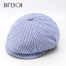 BFDADI 2019 New Men Women Adult Popular Newsboy Cap Spring And Summer Linen Octagonal Cap Tidal Outdoor Fashion Hats Big size 60(China)
