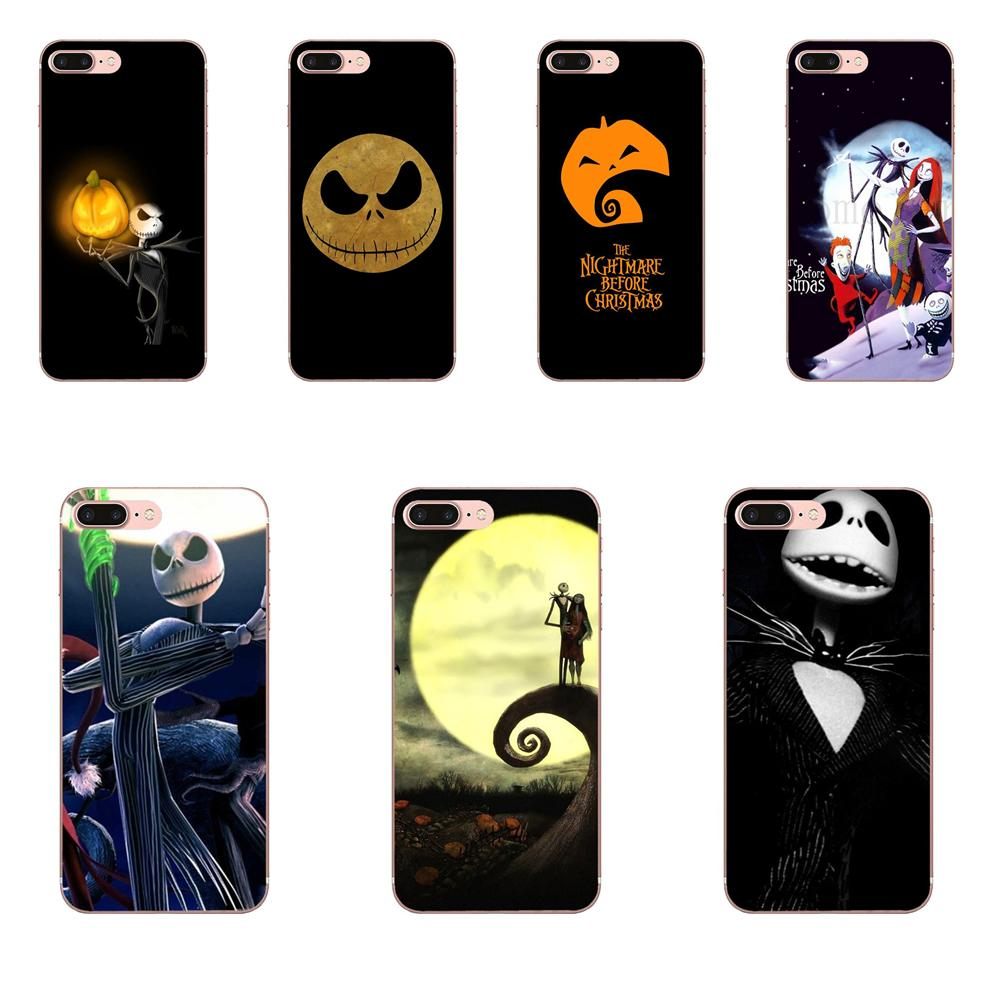 The Nightmare Before Christmas Mobile Cases For Galaxy Alpha Core Note 2 3 4 S2 A10 A20 A20E A30 A40 A50 A60 A70 M10 M20 M30