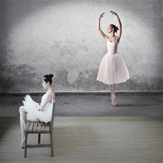 Custom Wallpaper 3d Stereoscopic Living Room Wall Decorative Paper Decor 3 D Ballet Dance Studio