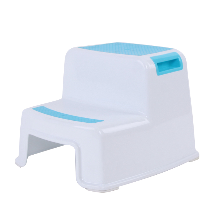 2 Step Stool Toddler Kids Stool Toilet Potty Training Slip Resistant For Bathroom Kitchen TB Sale