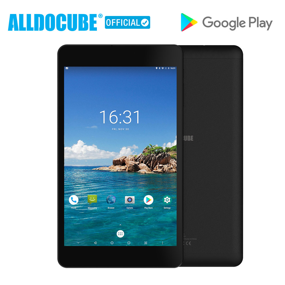 ALLDOCUBE M8  Android 8.0 Tablet Deca Core 8 Inch 1200*1920 Tablet PC MTK X27 MT6797   3GB RAM 32GB ROM Dual 4G Phone Dual Wifi