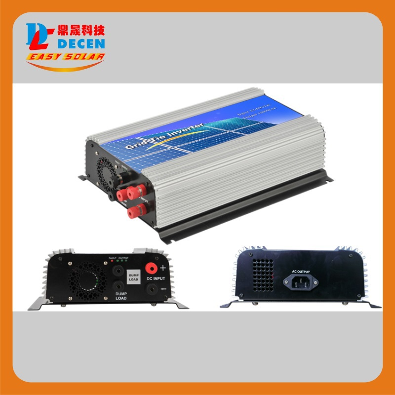 MAYLAR@3 Phase Input22-60V 1000W Wind Grid Tie Pure Sine Wave Inverter For 3 Phase 24V 1000Wind Turbine No Need Extra Controller maylar 300w wind grid tie inverter for 3 phase 24 48v ac wind turbine input 22 60v output 90 260v 50hz 60hz no need controller
