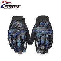 2018 Brand New SSPEC Arm Green Motorcycle Gloves Men Touch Screen Breathable Motoqueiro Guantes Moto Motocicleta