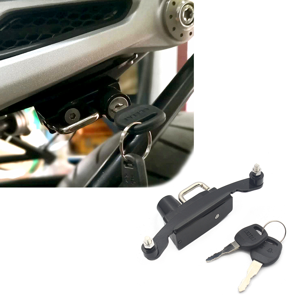 Motorcycle Helmet Lock Mount Hook Left For BMW R NINET 14-16 ALL MODEL