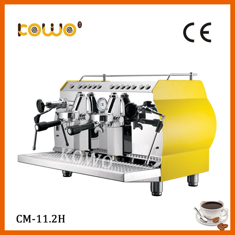 ce RoHS stainless steel electric italian coffee machine semi automatic 220V 11-16 cups espresso coffee maker kitchen appliance professional ce stainless steel electric espresso coffee maker semi automatic 5 10 cups italian coffee machine with milk frother