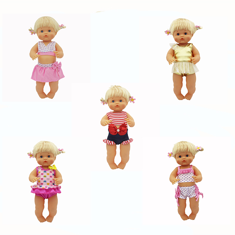 Hot 6 Styles Doll Clothes Fit 35-42cm Nenuco Doll Nenuco Su Hermanita Doll Accessories