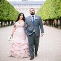 2017 Плюс Размер Румяна Розовые Свадебные Платья Из Бисера Chic Длинные русалка Плюс Свадебное Вечерние Платья Свадебное Платье Vestidos Де Noiva лонго