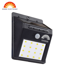 XINREE 16 LED Solar Powered Motion Sensor Light Outdoor Solar Spotlights Garden Patio Pathway Lamps Emergency Lighting
