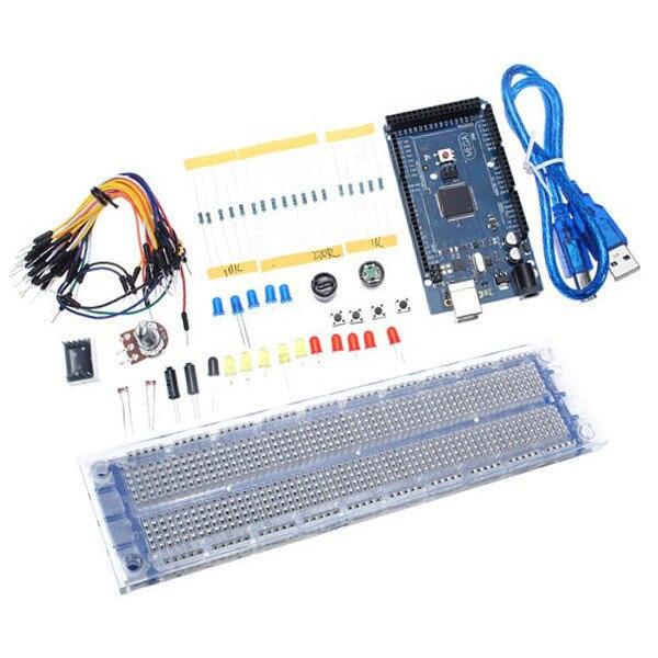 ФОТО Mega 2560 R3 Development Board Starter Kit Basic Kit For Arduino DIY parts kit