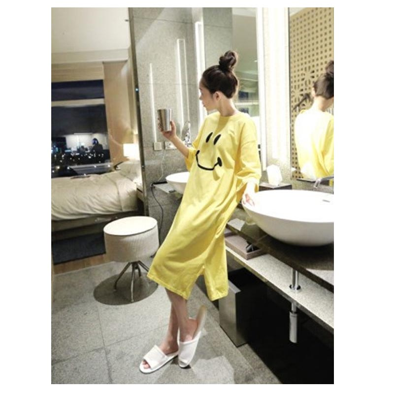 e290c63bc1fbe Breastfeeding Cute Thin Nightdress Clothes Dresses For Pregnant Women  Pajamas Dress Maternity clothes gestantes roupas gravidas-in Dresses from  Mother ...