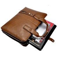 Men Handbags Hot Sell New Arrival Luxury Leather Men Handbag Classic Men S Travel Bags Large