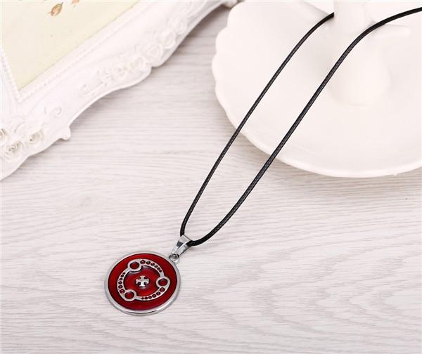 Naruto Red Sharingan Necklace