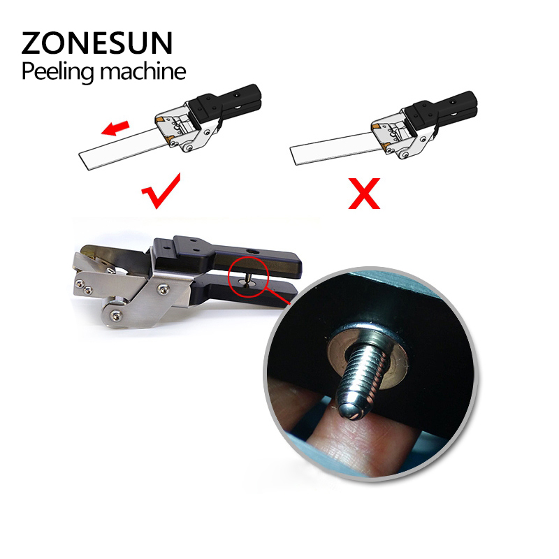 Image 4 - ZONEUN Leather Splitter Skiving Machine Peeling Machine Paring 