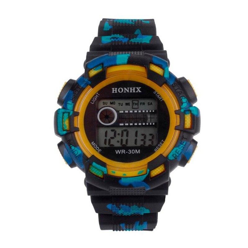 Honhx Männer Digitale Uhren Wasserdichte Led Digital Datum Militär Sport Analog Quarz Armbanduhren Alarm Relogio Masculino 40 Diversifizierte Neueste Designs Herrenuhren