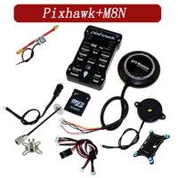 Pixhawk PIX PX4 2.4.8 Flight Controller M8N GPS Module with Built in compass Micro SD Card adapter RC FPV