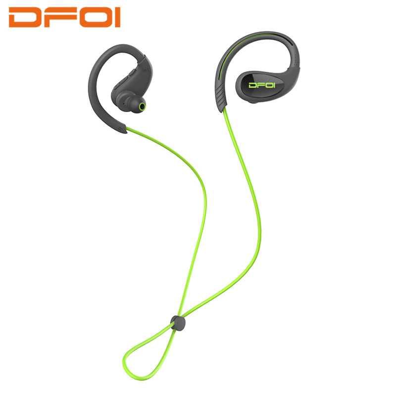 DFOI wireless sport headphone wireless earphone bluetooth headphones Stereo Headset IPX7 Waterproof Earphones Neckband For phone ir infrared wireless headphone stereo foldable car headset earphone indoor outdoor music headphones tv headphone 2 headphones