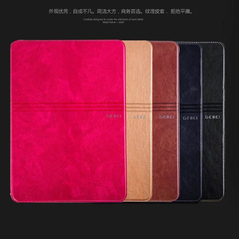 Elegant Brand Luxury Business Shockproof Flip Wallet Stand Leather Case for ipad air 3 Smart Cover For ipad pro 9.7 Retina Shell flip left and right stand pu leather case cover for blu vivo air