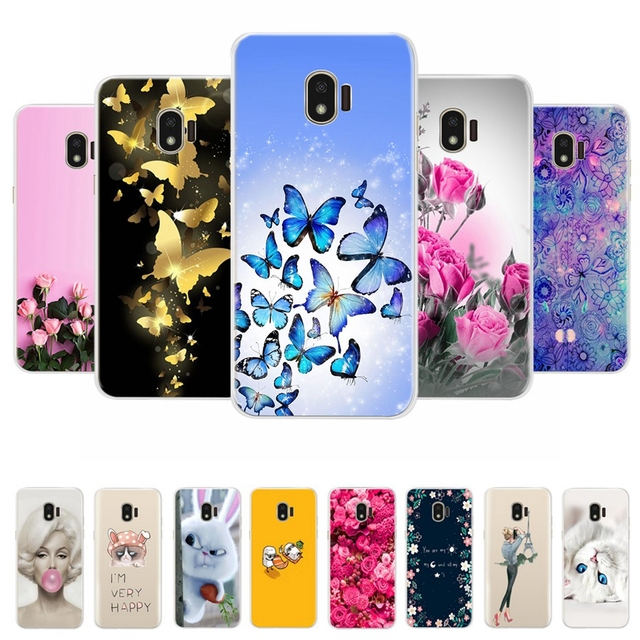 huge selection of 72b3a 14c76 US $1.05 |For Samsung Galaxy Grand Prime Pro Case Cover Silicone TPU Fitted  Case For Samsung Galaxy J2 2018 J250F J2 Pro 2018 Phone Cases-in Fitted ...