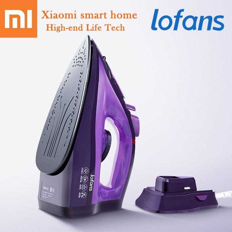 Xiaomi Youpin LOFANS jet de fer à vapeur 2000 W chauffage rapide réglage de température Multiple pas de ligne 280 mL céramique fer pour la maison