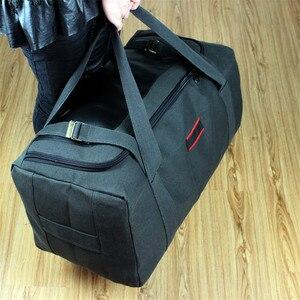 Image 3 - Men Travel Bags Large Capacity Women Luggage Travel Duffle Bags Canvas Big Travel Handbag Folding Trip Bag Waterproof