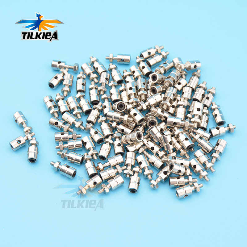 10Pcs RC Airplane Boat Pushrod Linkage Stopper Servo Connectors Adjustable  Diameter 2.1mm/1.8mm/1.5mm/1.1mm Helicopter Rc Boat