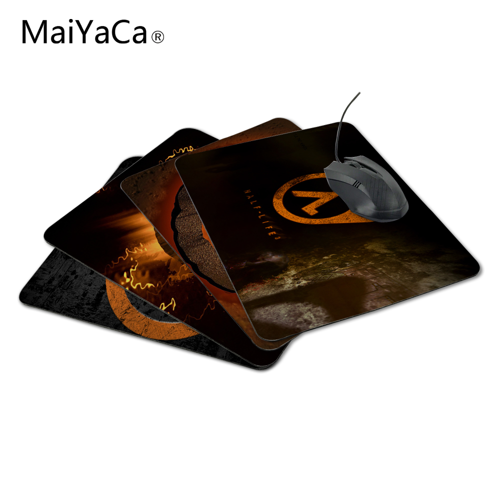 MaiYaCa Half Life Fashon Cute Mouse Mat Gaming Mouse Size 18*22cm And 25*29cm Best Christmas Gift