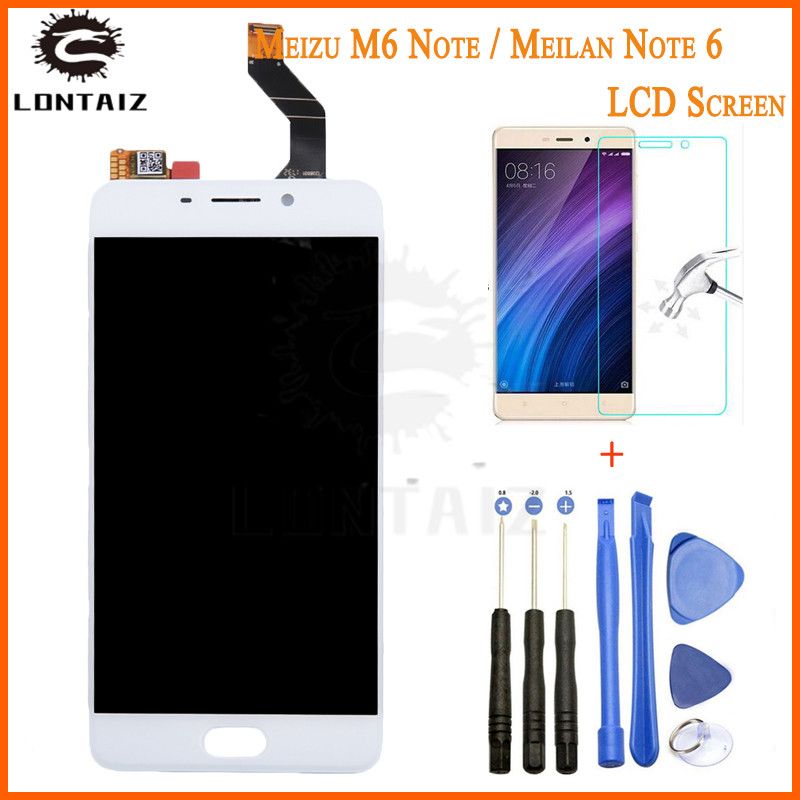 For <font><b>Meizu</b></font> <font><b>M6</b></font> Note <font><b>LCD</b></font> Display + Touch Panel <font><b>LCD</b></font> Screen Digitizer Assembly Replacement For <font><b>Meizu</b></font> <font><b>M6</b></font> Note Mobile Phone image