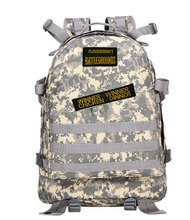 Playerunknowns Battlegrounds PUBG Winner Chicken Dinner Level1-3 Instructor Backpack Multi-functional Multicolor