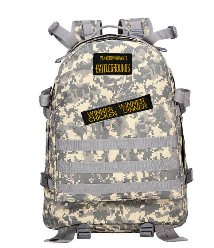 Pubg Backpack Playerunknown's Battlegrounds Winner Chicken Dinner Level1-3 Instructor Backpack Multi-functional Multicolor