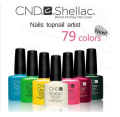 4Pcs/lot 2016 New Brand Shellac CND Soak Off UV LED Nail Gel Polish 79 Color Available The Best Gel Polish