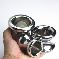 Stainless Steel Anal Plug Butt Vagina Expander Anus Dilator Butt Stopper Penis Sleeves Anal Bullet Sex Toys for Couples H8 1 202