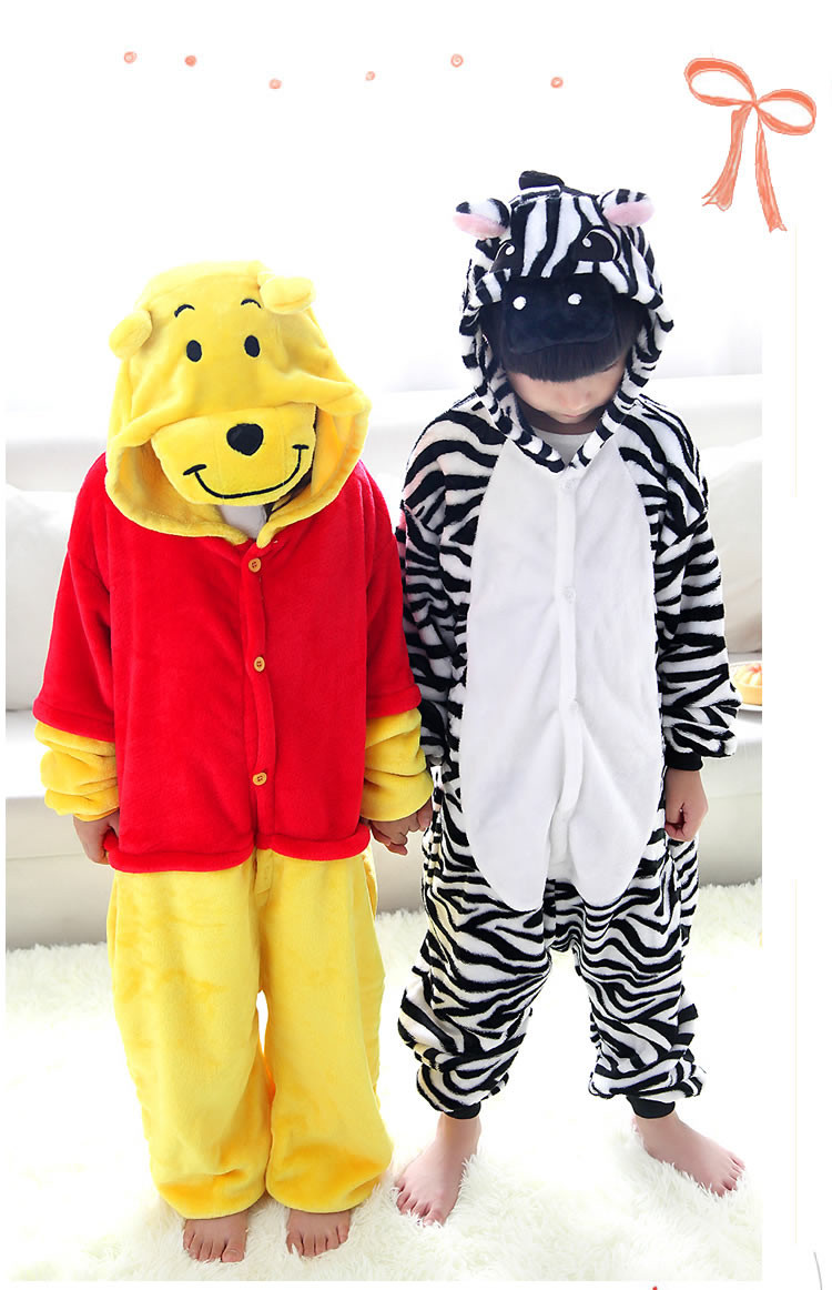 Popular Kids Zebra Pajamas-Buy Cheap Kids Zebra Pajamas lots from ...
