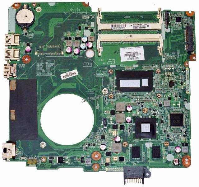 737986-001 envío libre da0u82mb6d0 placa madre del ordenador portátil 737986-501 para hp pavilion 15-n i7-4500u ddr3 100% de trabajo perfecto