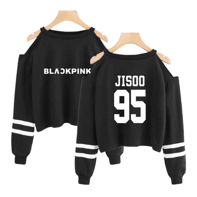BLACKPINK OFF SHOULDER SWEATSHIRT (6 VARIAN)