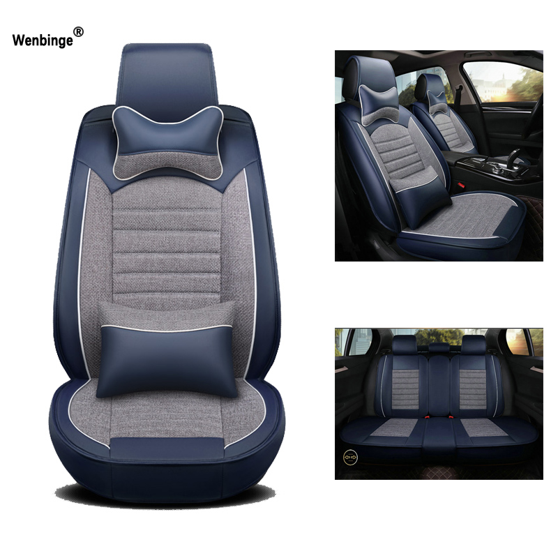 9 Piece Navy Blue Sports Seat Covers Ford Focus Fiesta Ka Mondeo