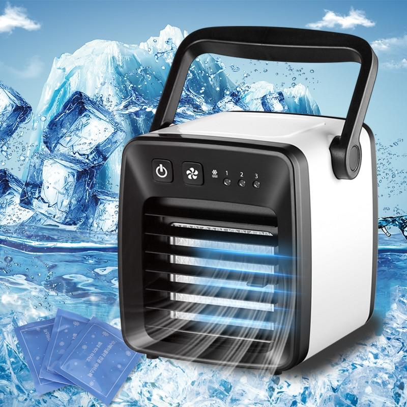 Mini ventilateur de tour sans feuilles USB Portable Ultra-silencieux vent fort 2 vitesses bureau ventilateur de refroidissement purificateur pour bureau d'ordinateur à domicile
