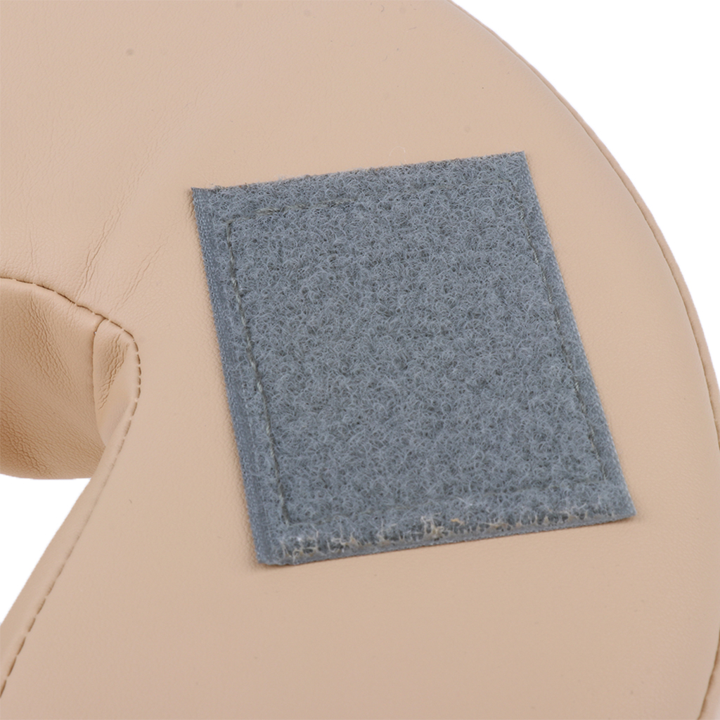 Comfortable Sponge U Shape Face Down Pillow Neck Support Cradle Cushion for Massage Table Salon Bed