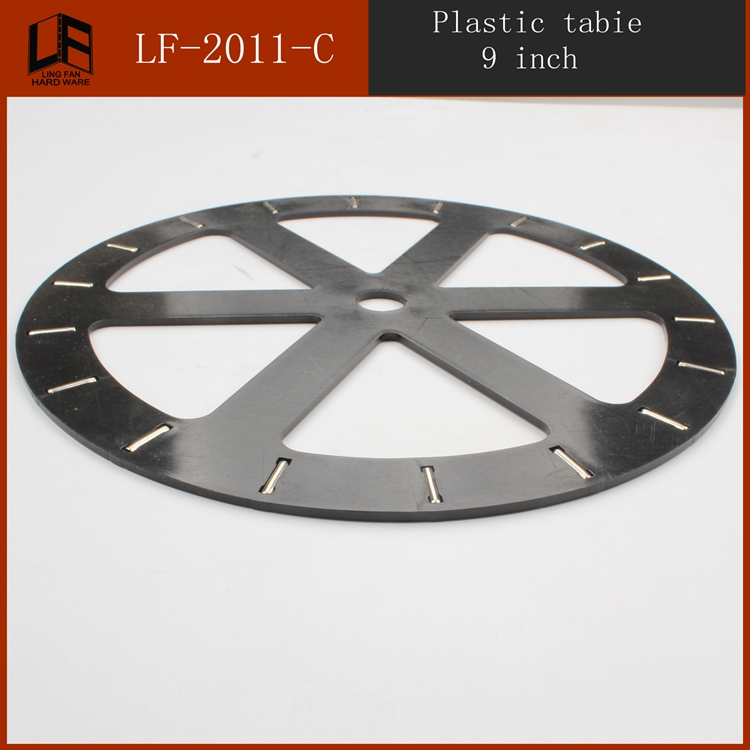 Furniture Bearing Turntable Plastic Lazy Susan 9