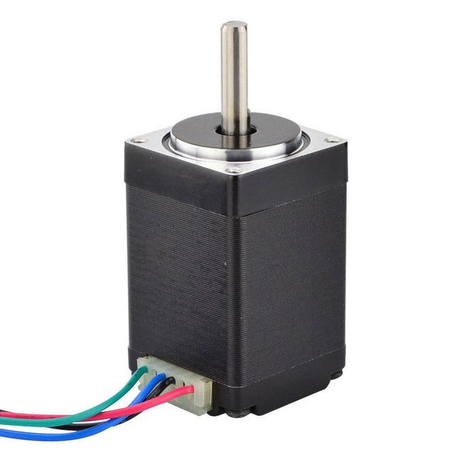 Nema 11 Stepper Motor 28BYGH 28x28x45mm 1.8deg 0.67A 9.5Ncm/14oz.in Nema11 Step Motor 4-lead for DIY CNC 3D Printer