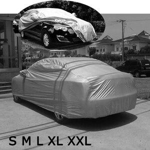 Image 4 - Pare soleil bâche de voiture dintérieur et dextérieur, Protection solaire, contre la neige, la chaleur, les UV, les rayures, combinaison universelle