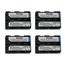 Recarregável para Sony 4 Pc e lote Np-fm500h NP Fm500h Npfm500h Bateria Alpha Slt A57 A65 A77 A99 A350 A550 A580 A900