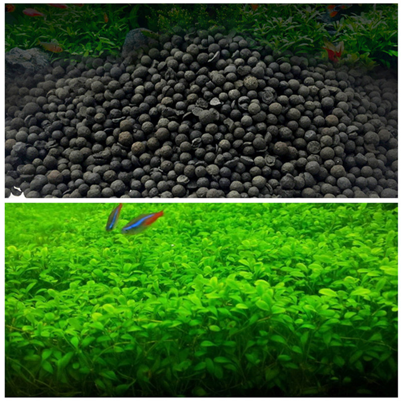 Water Plant Aquarium Substrate Soil Fish Tank Grass Plant