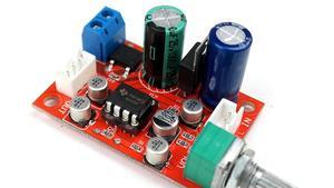 Image 1 - 12 فولت 24 فولت NE5532 OP AMP HIFI مكبر للصوت Preamplifier حجم لهجة EQ لوحة تحكم
