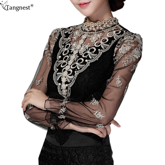 Model Aliexpresscom  Buy 2017 Blouse Embroidery Designs Blouses Tops White