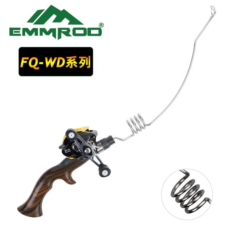 NEW Emmrod portable lure fishing rod set fishing Ocean boat Raft fishing rod Portable Casting Fish Telescopic Rod FQ-WD
