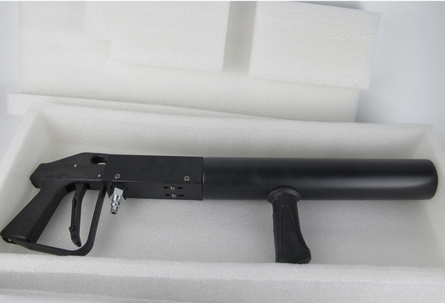 Handheld Co2 Jet Machine Co2 Jet Gun DJ Light 3 Meters Hose Jet High-Quality Gun Pistol Co2 Stage Equipment